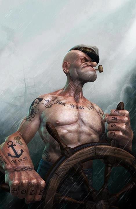 פופאי בקר העמותה \ פופאי המלח - Popeye the sailor man