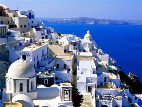 fira santorini cyclades islands greece -santorini סנטוריני