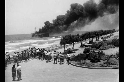 יום הקרב על הספינה אלטלנה - חוף הים תל אביב