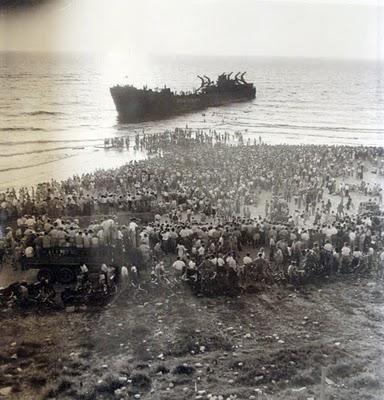 הספינה אלטלנה - חוף הים תל אביב