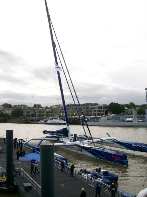 offshore racing trimaran Banque Populaire V