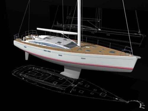 CNB bordeaux 60 sailing yacht