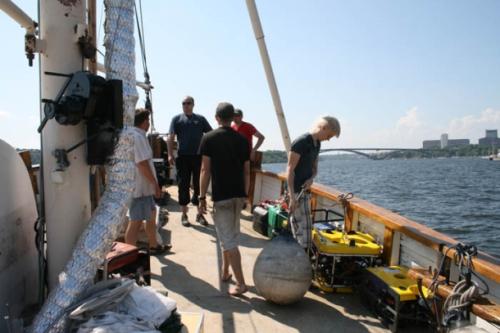 Ocean Explorer crew
