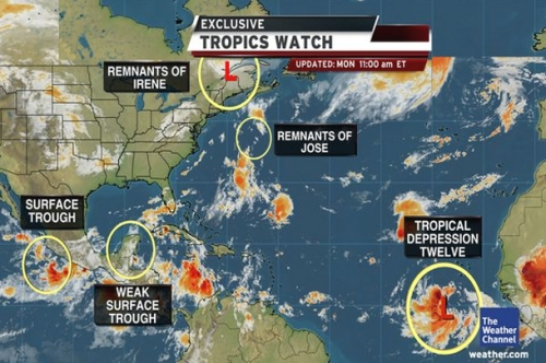 Hurricane Katia Is Now Forming Over The Atlantic