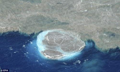 אפר וולקני תת מימי