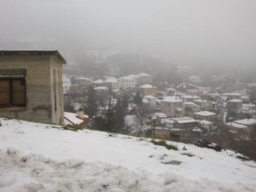 יוון בלבן - Snow in Greece