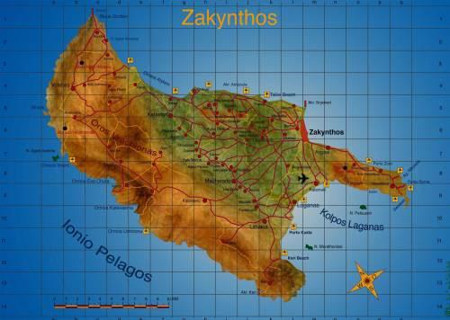 Zakynthos Greece - זקינתוס יוון