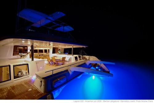 Lagoon 620 sailing catamaran