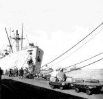 אניה בנמל חיפה