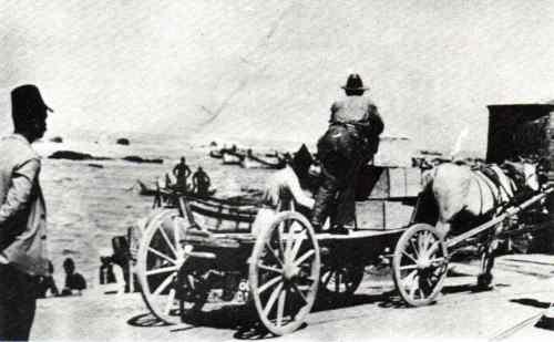 משלוח תפוזים, נמל יפו,  Jaffa Port, Transport Of Oranges, 1920's