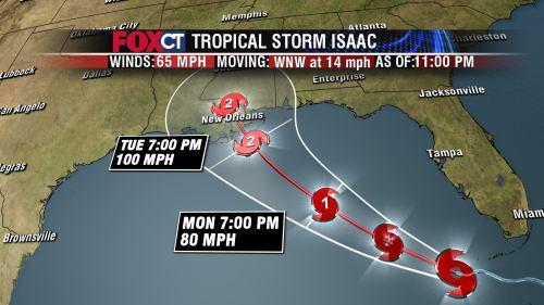 Hurrican ISAAC Tropical Storm
