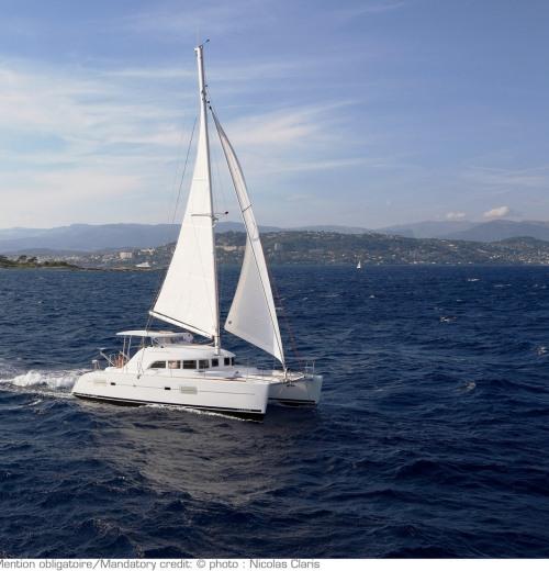 יוון 2012 - Greece 2012 - Lgoon 380 sailing  catamaran