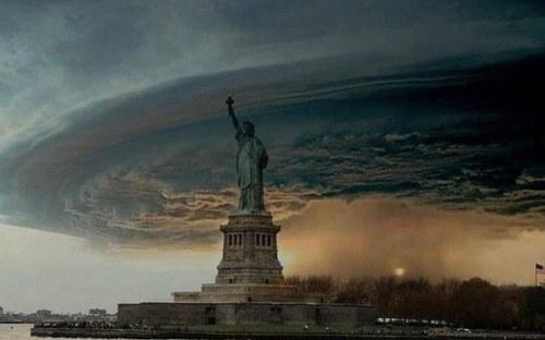 hurricane sandy in NYC new york city הוריקן סנדי בניו יורק