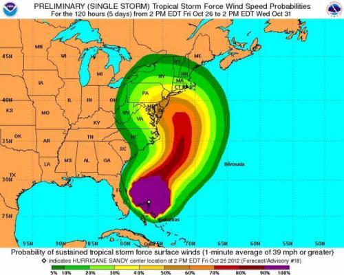 הוריקן סנדי Hurricane sandy 2012