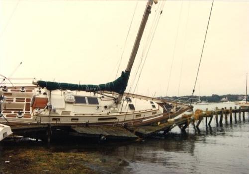 הסירות והיאכטות של הוריקן סנדי - Hurricane sandy yachts and boats