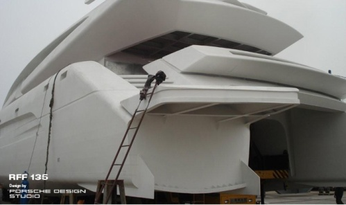 Royal Falcon Fleet RFF 135 - Porsche Design Mega Yacht RFF135