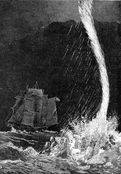 Waterspout - נד מים