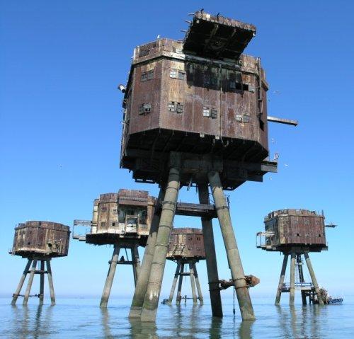 מצודת הים של מאוונסל - Maunsell sea Forts