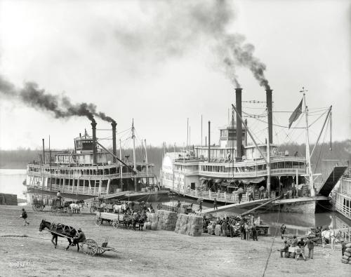 "1906 | "" Mississippi River Landing"""