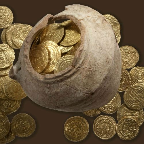 apolonia אוצר מטבעות זהב אפולוניה ארסוף