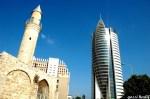 בנין הטיל והמסגד בחיפה