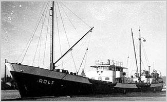 השם המקורי של ספינת השלום - MV Rolf
