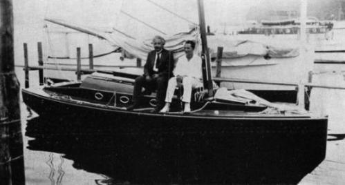 Albert Einstein yacht - היאכטה של אלברט איינשטיין