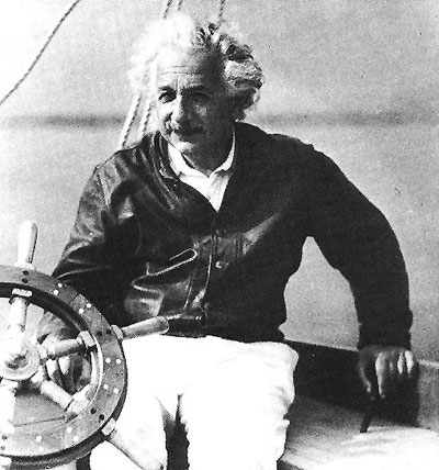 professor Albert Einstein yacht - היאכטה של אלברט איינשטיין