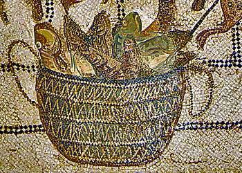 Basket of Fish for Garum Making
