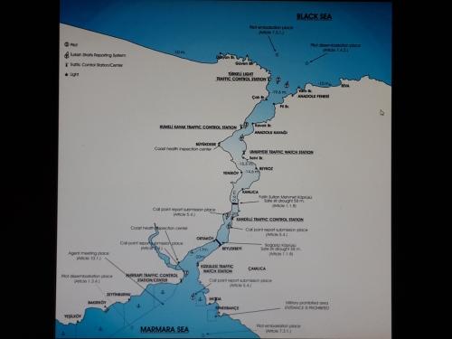 מיצרי הבוספורס נמל איסטנבול והים השחור