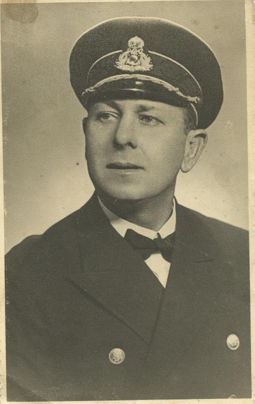 The ship captain Gorbatenco potrait - קברניט הספינה סטרומה גורבצ'נקו פוטרייט
