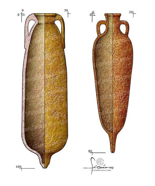 Roman Amphorae for Garum