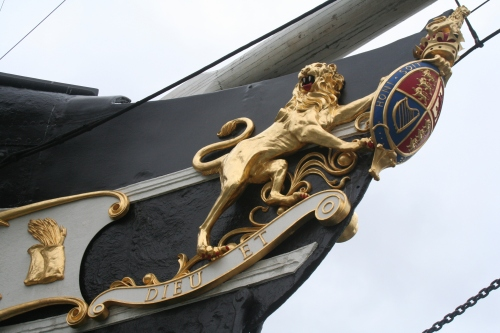 SS Great Britain figurehead starboard side - גליף חרטום