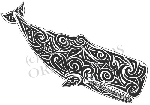 sperm whale tattoo by domoorichalcos-d4db99h