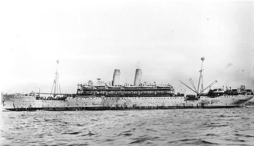 USS Princess Matoika underway 1919