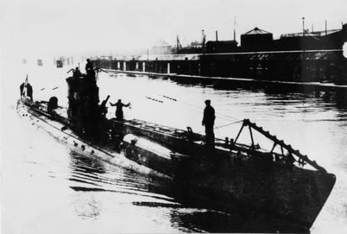 הצוללת הגרמנית UC38