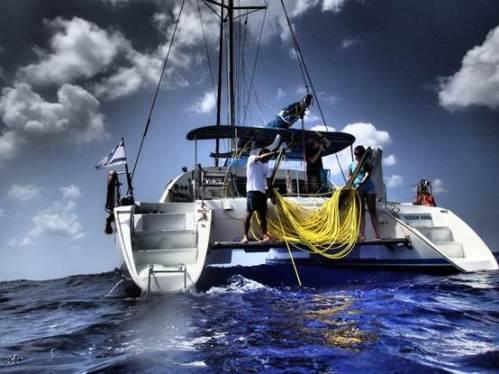 Ocean King Lagoon 410 catamaran - אושן קינג לגון 410 קטמרן